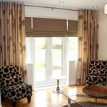window curtains in a house