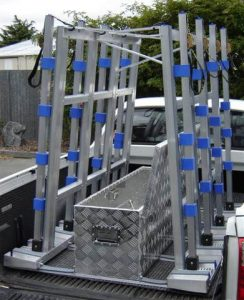 glass and window transport rack